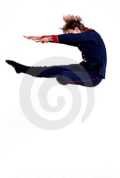 Ballet Man Jumping Stock Photo - Image: 15434530