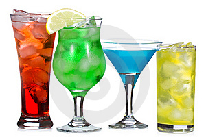 Alcohol Cocktails Stock Photography - Image: 15435652