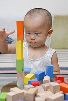Wooden Toy Blocks Royalty Free Stock Photos - Image: 15436268