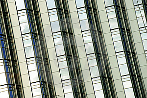 Tilted Building Feature Stock Image - Image: 15436911