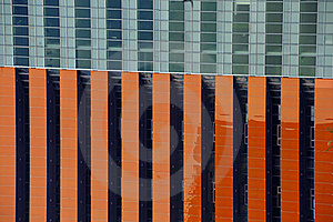 Tilted Building Feature Royalty Free Stock Image - Image: 15436946