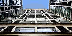 Tilted Building Feature Royalty Free Stock Photos - Image: 15436968