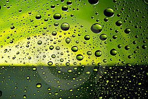 Many Water Drops Royalty Free Stock Photography - Image: 15438077