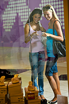 Looking Through Shop Window Royalty Free Stock Photo - Image: 15440165