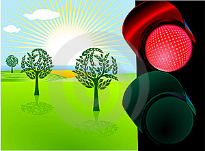 Conservation And Red Light Stock Images - Image: 15440614