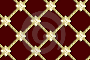 Seamless Vector Brown Texture With Rhombuses Stock Images - Image: 15442324