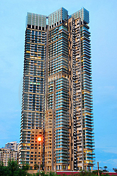 The High Rise Building Royalty Free Stock Photo - Image: 15443835