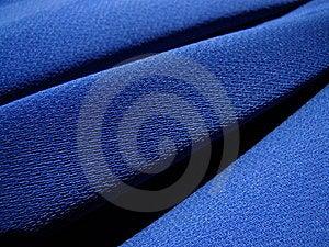 Blue Fabric Crepe Royalty Free Stock Image - Image: 15444126