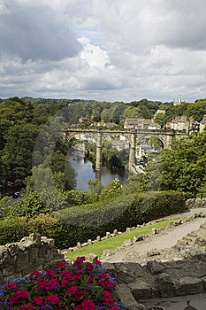 Knaresborough Yorshire R-U Photographie stock libre de droits - Image: 15445457