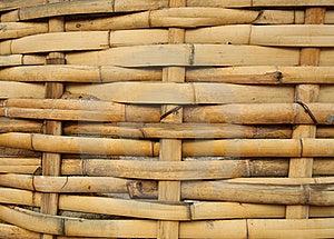 Bamboo Basket, Bamboo Weave Pattern Stock Photo - Image: 15445740
