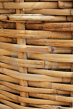 Bamboo Basket, Bamboo Weave Pattern Stock Photography - Image: 15445792