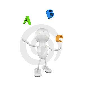 ABC Royalty Free Stock Image - Image: 15445826