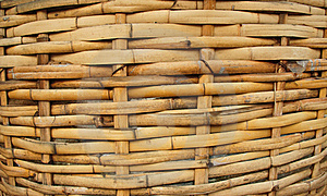 Bamboo Basket, Bamboo Weave Pattern Stock Photos - Image: 15445873