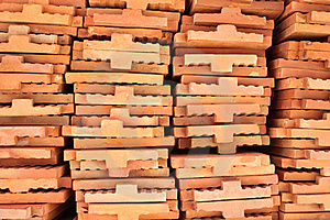 Stack Of Brickwork Stock Photography - Image: 15446102