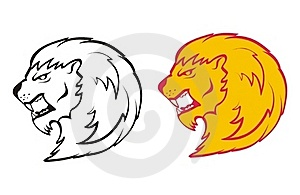 Lion Head Royalty Free Stock Photo - Image: 15447875