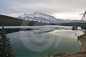 Two Jack Lake Stock Images - Image: 15447904