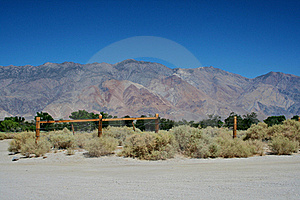 Arid Mountain Range Royalty Free Stock Photography - Image: 15447977