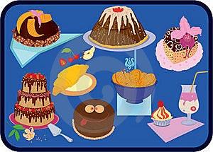 Cakes Stock Afbeeldingen - Afbeelding: 15449804