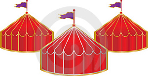 Circus Tent Stock Photo - Image: 15449870