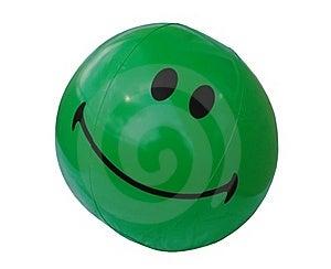 Green Beach Ball Royalty Free Stock Photo - Image: 15450945