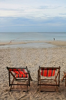Beach Chair Royalty Free Stock Photography - Image: 15451417