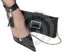 Ladies  Shoe And  Handbag Stock Photos - Image: 15452163