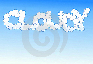 Cloudy Background Royalty Free Stock Image - Image: 15453226