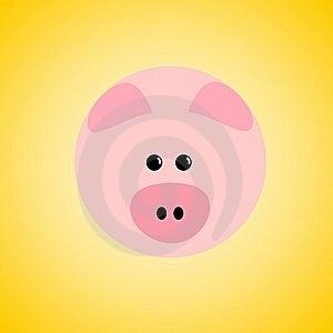 Pig Icon Stock Photo - Image: 15454610