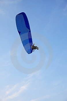 Paraglider - Feeling Free Royalty Free Stock Image - Image: 15455996