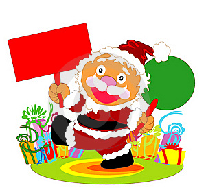Happy Santa Claus Royalty Free Stock Photos - Image: 15456058
