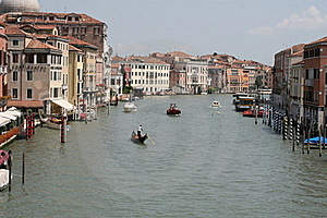 Grand Canal In Venice, Italy Royalty Free Stock Photos - Image: 15458208