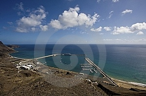 Marine In Porto Santo Stock Photo - Image: 15458510