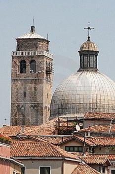 Ancient Churches, Venice, Italy Royalty Free Stock Photos - Image: 15458628