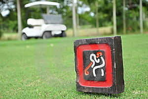 Golf Sign Royalty Free Stock Photo - Image: 15459195