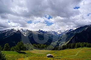 Hike In The  Passeiertal  In South Tyrol Royalty Free Stock Image - Image: 15461046
