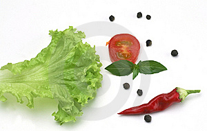 Salad Spice Ingredient Stock Photos - Image: 15462763