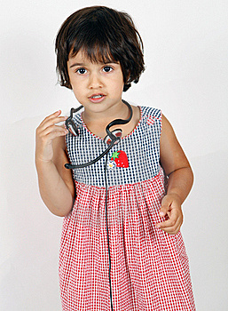 Toddler Talking And Posing Stock Photos - Image: 15462993