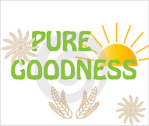 Wheat Logo Background Sun Royalty Free Stock Photos - Image: 15463538
