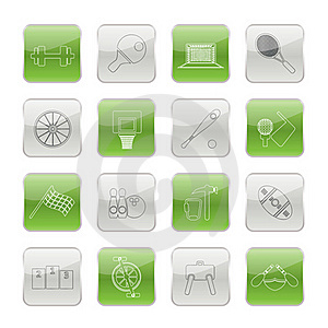Sports Gear And Tools Stock Photo - Image: 15464650