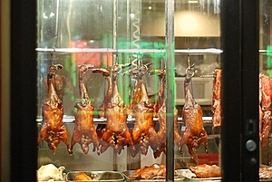 Roast Duck In Chinatown Stock Images - Image: 15466494