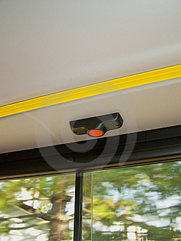 Stop The Bus Button Stock Photo - Image: 15468710