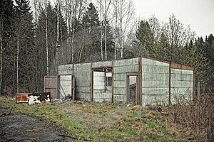 Abandoned Ruined House Stock Photo - Image: 15468750