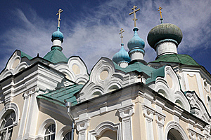 Old Russian Architecture Royalty Free Stock Photography - Image: 15470027