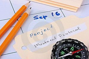 Montreal Protocol Royalty Free Stock Photography - Image: 15472387