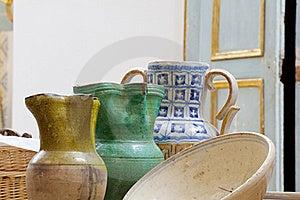 Ceramic Jugs Royalty Free Stock Photo - Image: 15473255