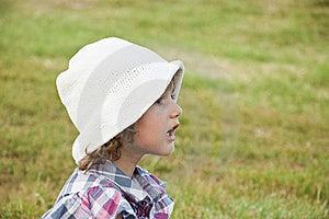 Gridare Della Bambina Fotografia Stock Libera da Diritti - Immagine: 15474405