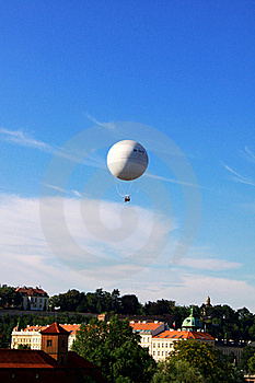 Dirigible Balloon Stock Image - Image: 15475381