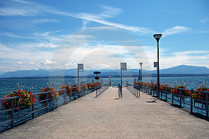 Landing Stage. Stock Photography - Image: 15478852