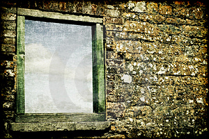 Strukturiertes Fenster Stockbild - Bild: 15479841