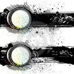 Illustration-grunge Ink Background Stock Photo - Image: 15480630